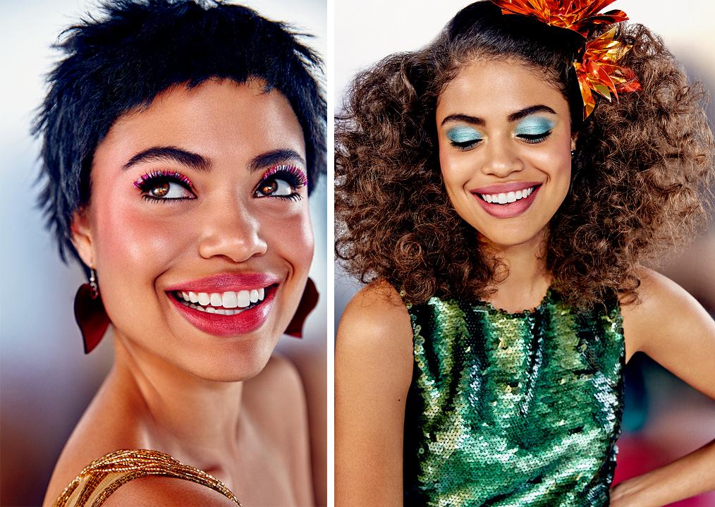 Maquiagem Para o Carnaval Com Produtos da Natura Aquarela