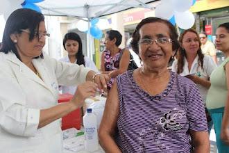 Vacina contra Influenza já está disponível nos Centros de Saúde da Família de Sobral