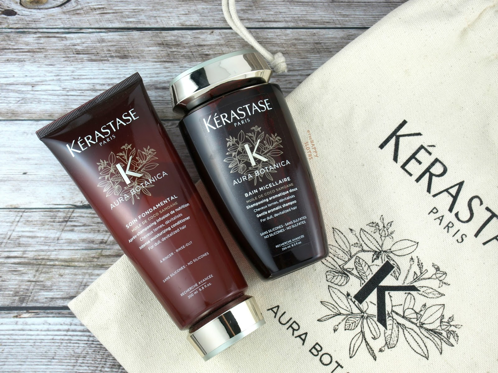 kerastase aura botanica collection review the happy. Black Bedroom Furniture Sets. Home Design Ideas