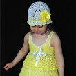 How to crochet summer dress and hat for girl free pattern