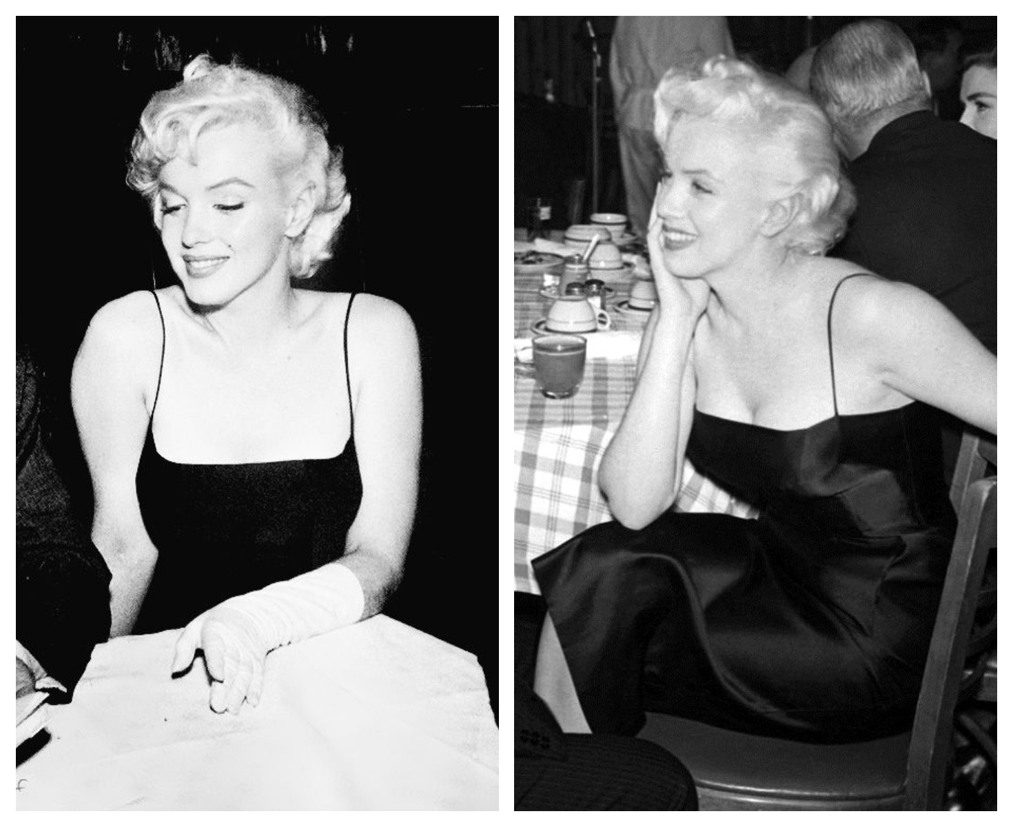 e1759e140ae857 To ten fason: Marilyn na urodzinach aktora Jackiego Gleasona, 1955. Getty  Images.