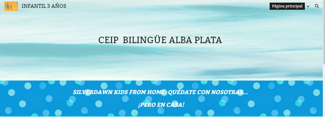 SILVERDAWN KIDS FROM HOME (L@s chic@s Alba Plata desde casa)