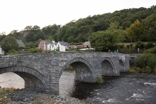 Bridge over the River Dee at Llangollen