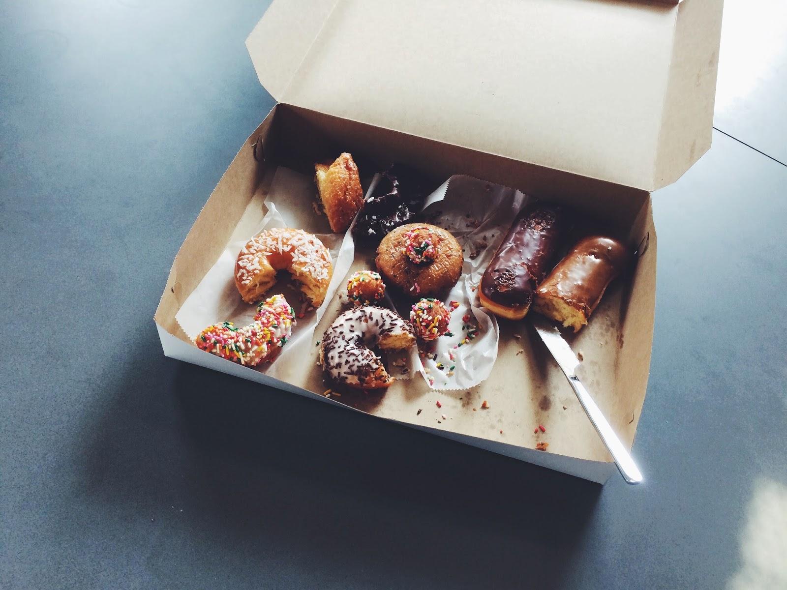 Fanaberie z donutami w Tłusty Czwartek