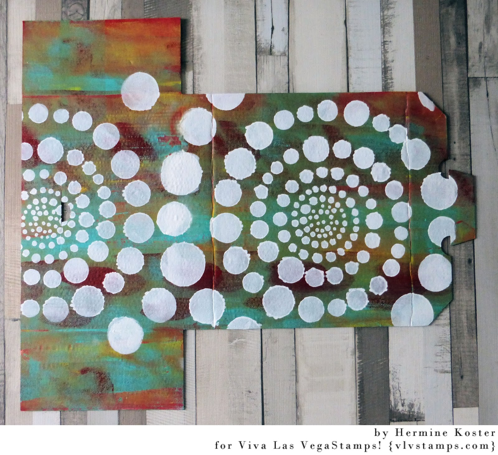 Acryllic Paint Circles