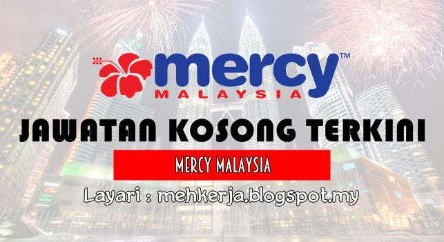 Jawatan Kosong Terkini 2016 di MERCY Malaysia