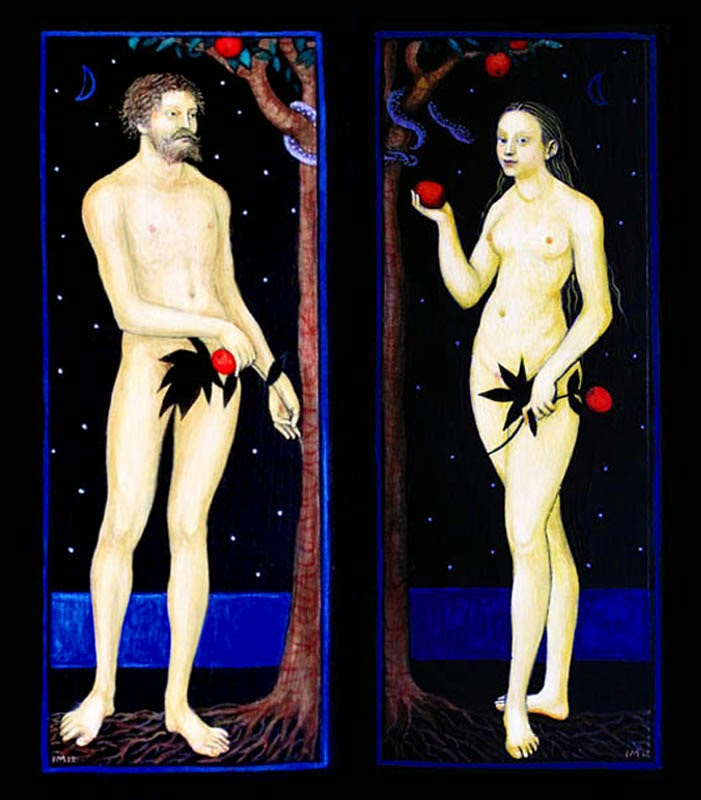 Ismini Bonatsou Adam and Eve 4