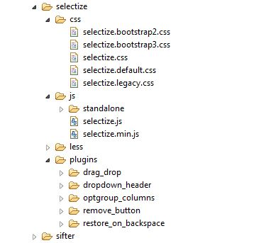 Using Selectize for List Boxes and Combo Boxes in XPages | XPages