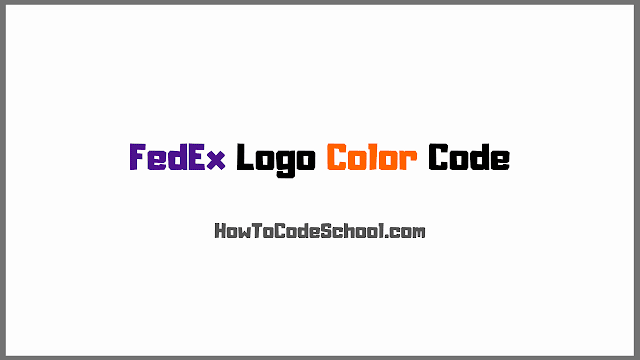 FedEx Logo Colors