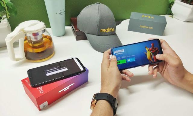 Realme 3 Pro Mampu jalankan Game berat masakini dengan Lancar
