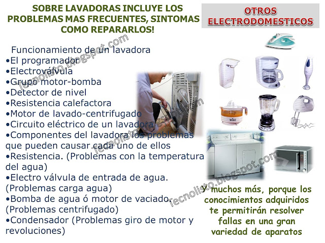 """Manual reparacion aparatos electricos"""