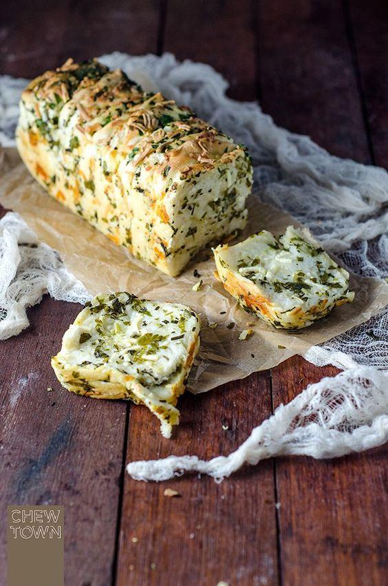 Cheesy Garlic Herb Bread
