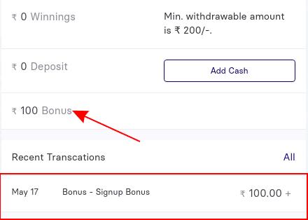 gamezy sign up bonus