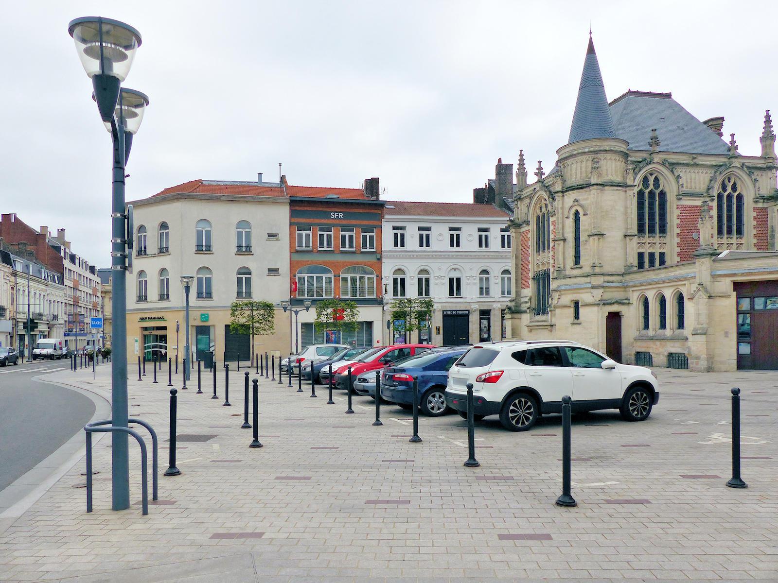 Stationnement Tourcoing Centre, Place de la République
