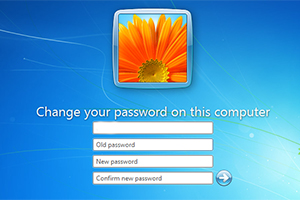 How to Change Password without knowing the old Password