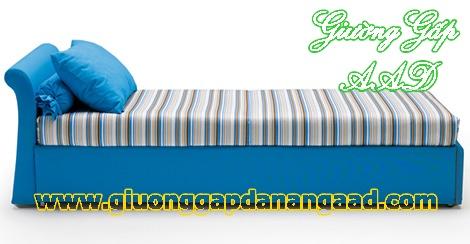 Giường da năng gấp thành ghế sofa