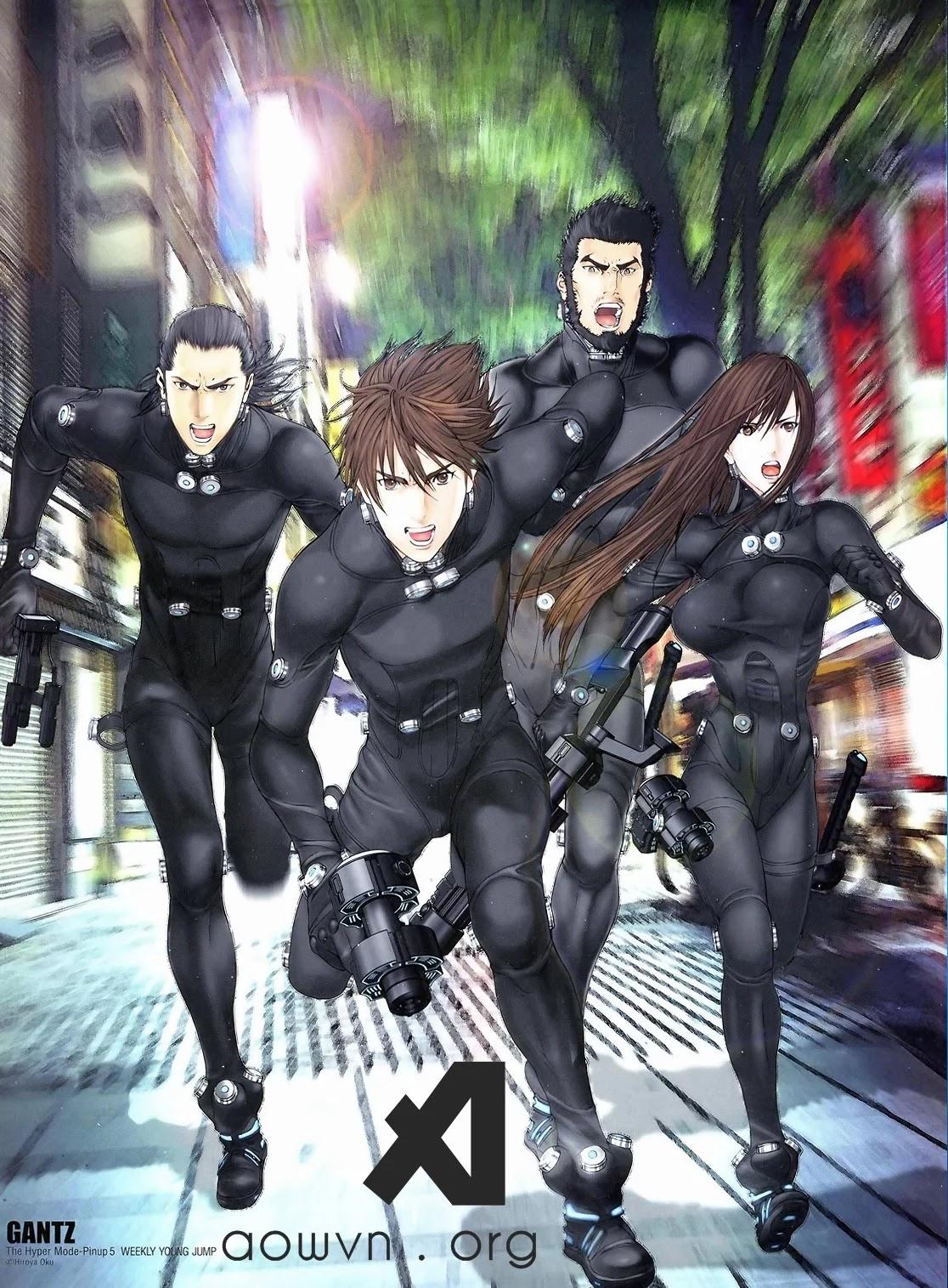 gantz aowvn - [ Đã Kết Full ] Gantz | Manga Online - hấp dẫn