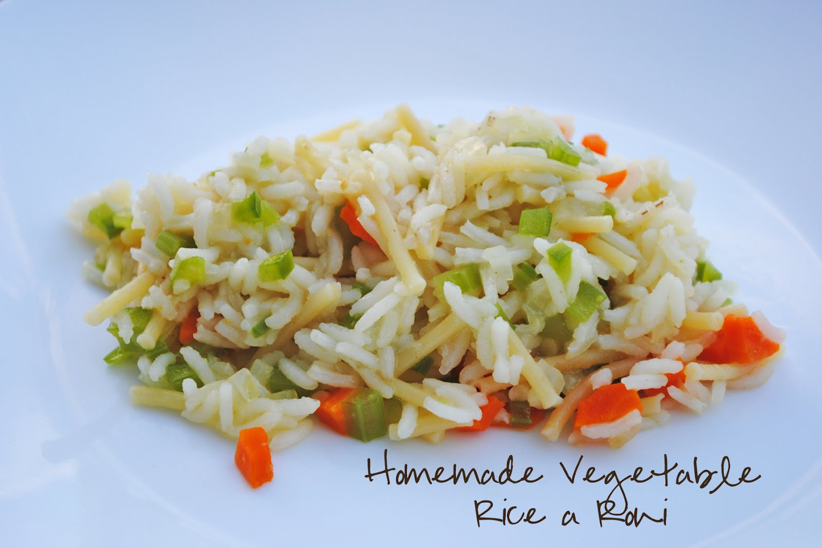 Durfee Family Recipes Homemade Vegetable Rice A Roni