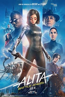 Alita Battle Angel Rosa Salazar Movie Poster 17