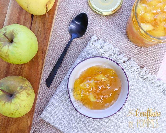 recette confiture pomme cannelle
