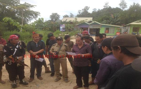 Aksi Demo Damai Desa Muara Inu Terhadap PT. Pada Idi, Menuntut Sisa yang Belum di Bayar