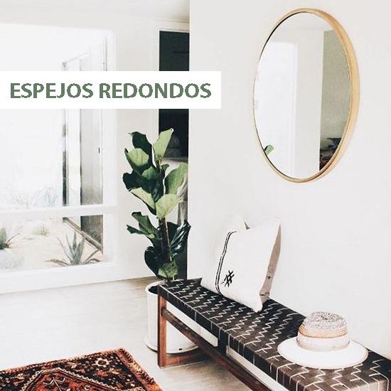 Ideas de decoraci n espejos redondos meu canto blog for Espejos redondos pequenos