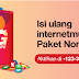 Paket Tri 24 Jam Nonstop 4G, 35GB Cuma 80ribu