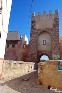 Entrada principal del Castillo de Buñol