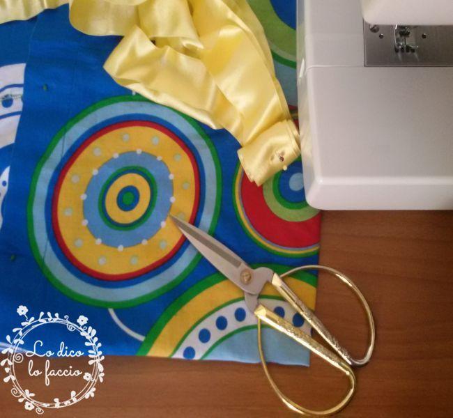 Come cucire un abitino da una federa tutorial  Lo Dico lo Faccio  corsi di cucito online