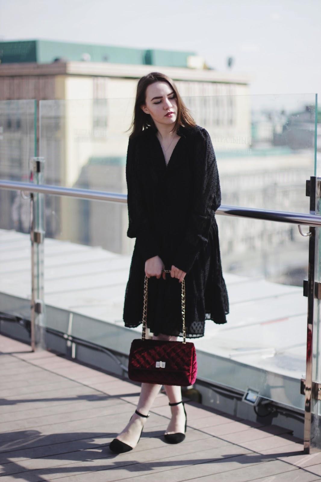 Fashion Blogger | H&M Black Dress