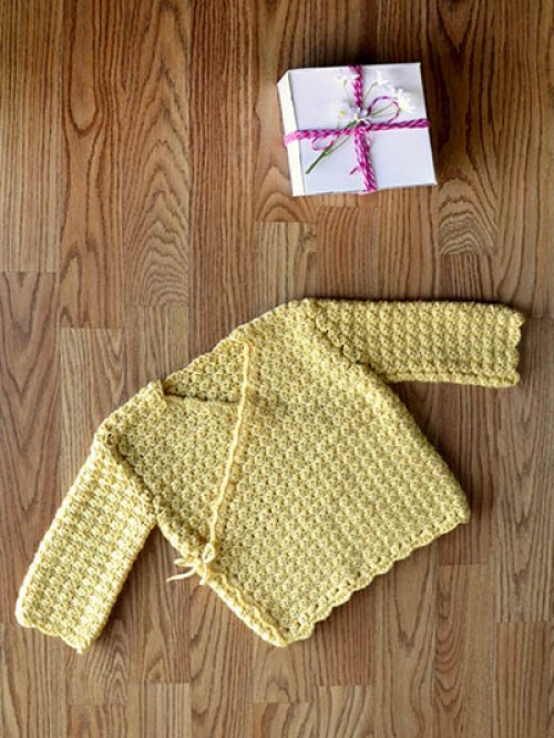 Special Gift Jacket - Free Pattern
