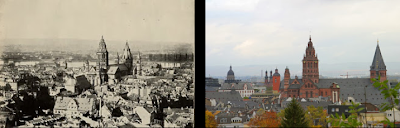 Mainz then and now