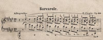 Barcarola Chopin