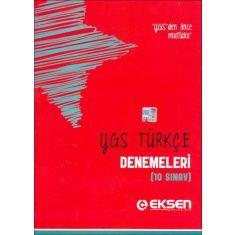 Eksen YGS Türkçe Denemeleri 10 Sınav (2015)