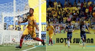 Sriwijaya vs Arema Imbang 1-1