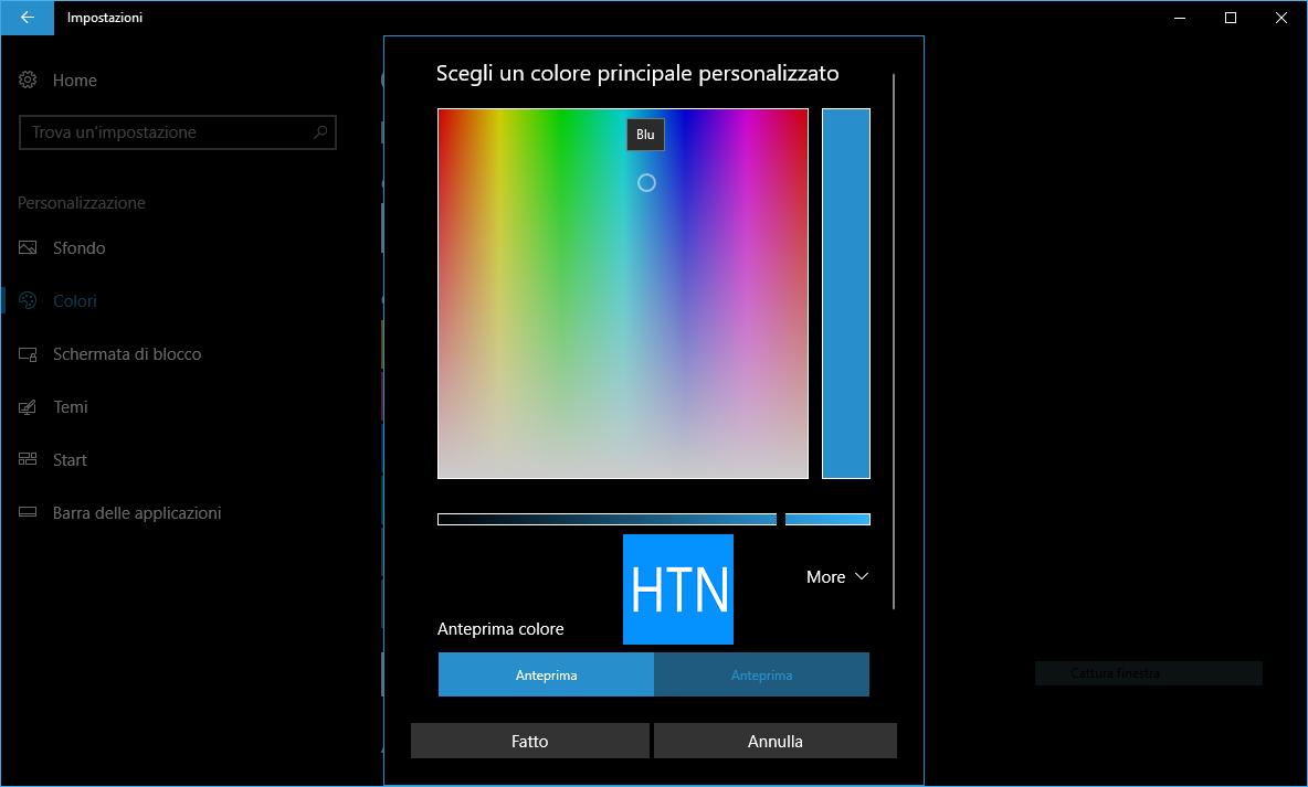 Colore-personalizzato