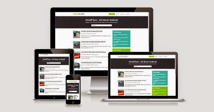 Download Template Simple Responsive Untuk Blogger