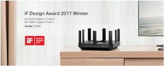 TP-Link® Earns Two Prestigious 2017 iF Design Awards