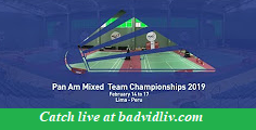 XXIII Pan Am Mixed Team Continental Championships 2019 live streaming