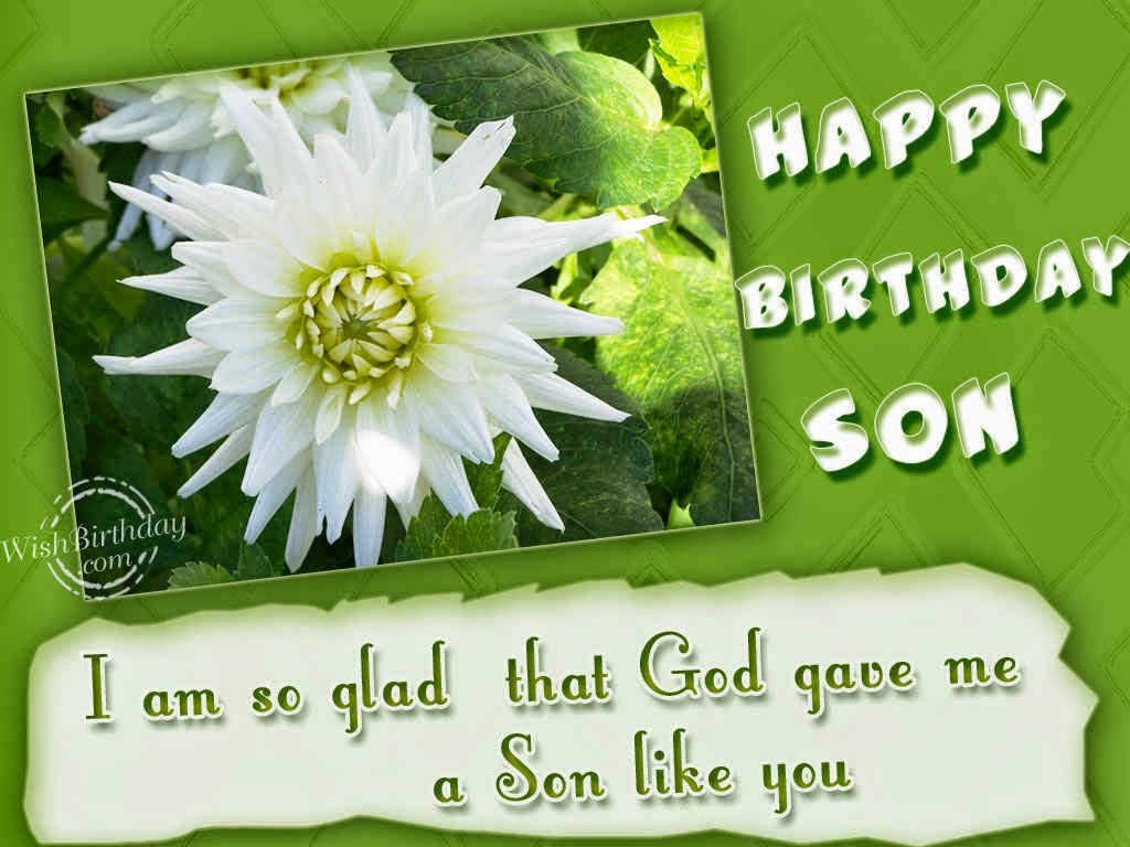 All Wishes Message Greeting Card And Tex Birthday Greetings For Son