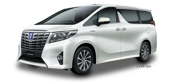 Exterior Toyota Alphard Hybrid Surabaya