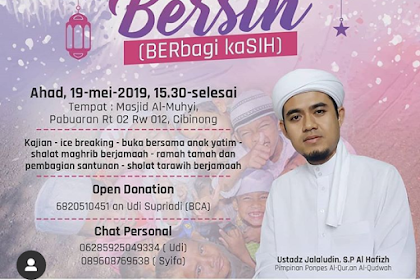 Ramadhan Bersih (Berbagi Kasih)