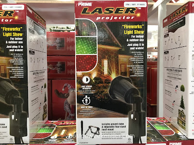 Make your home more festive during the holidays with the Prime Laser Projector (model LFLRGM505)