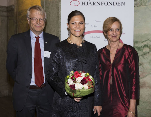 Princess Victoria at Swedish Brain Foundation's anniversary