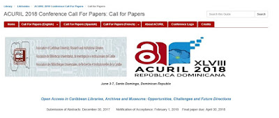 ACURIL 2018 : Open Access in Caribbean Libraries, Archives and Museums: Opportunities, Challenges and Future Directions