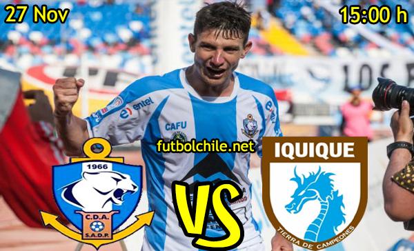Ver stream hd youtube facebook movil android ios iphone table ipad windows mac linux resultado en vivo, online:  Deportes Antofagasta vs Deportes Iquique