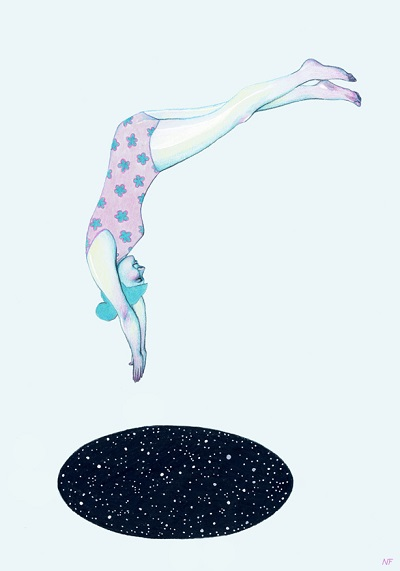 """Into the Unknown"" por Natalie Foss 