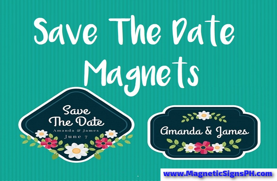 Custom Save The Date Magnets Philippines