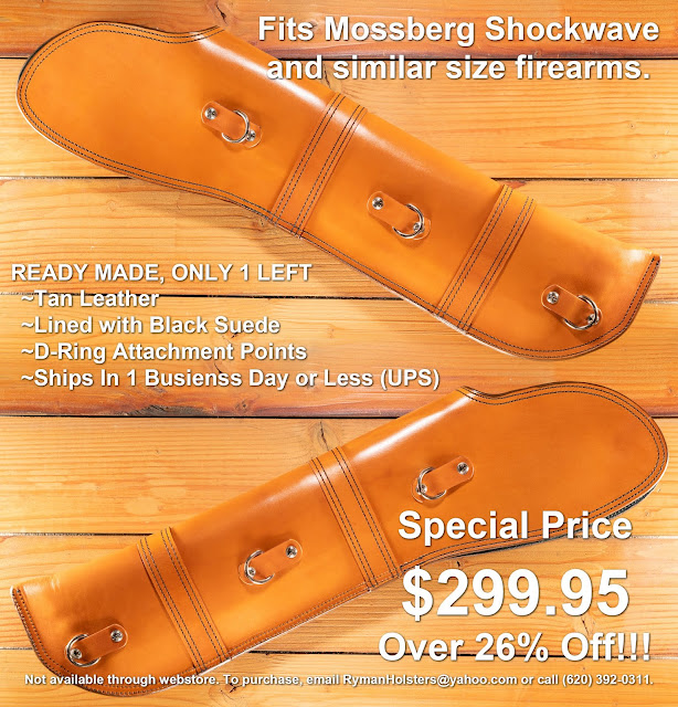 Custom Scabbard for Mossberg Shockwave
