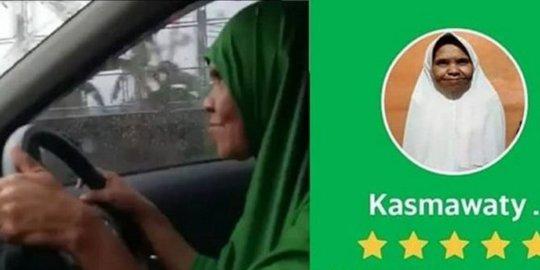 Sudah berumur  56 Tahun Masih Semangat Jadi Sopir Taksi
